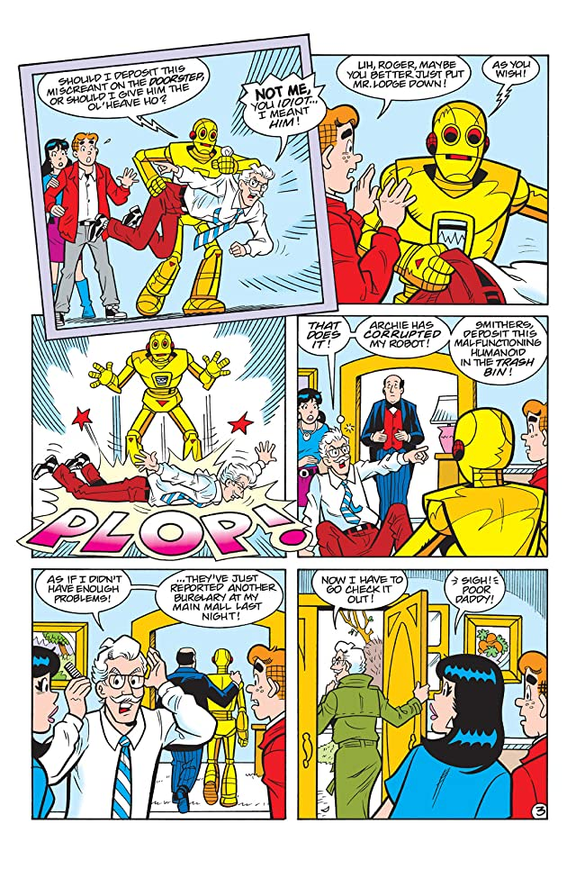 PEP Digital #94: Archie & Friends Robot Rampage!