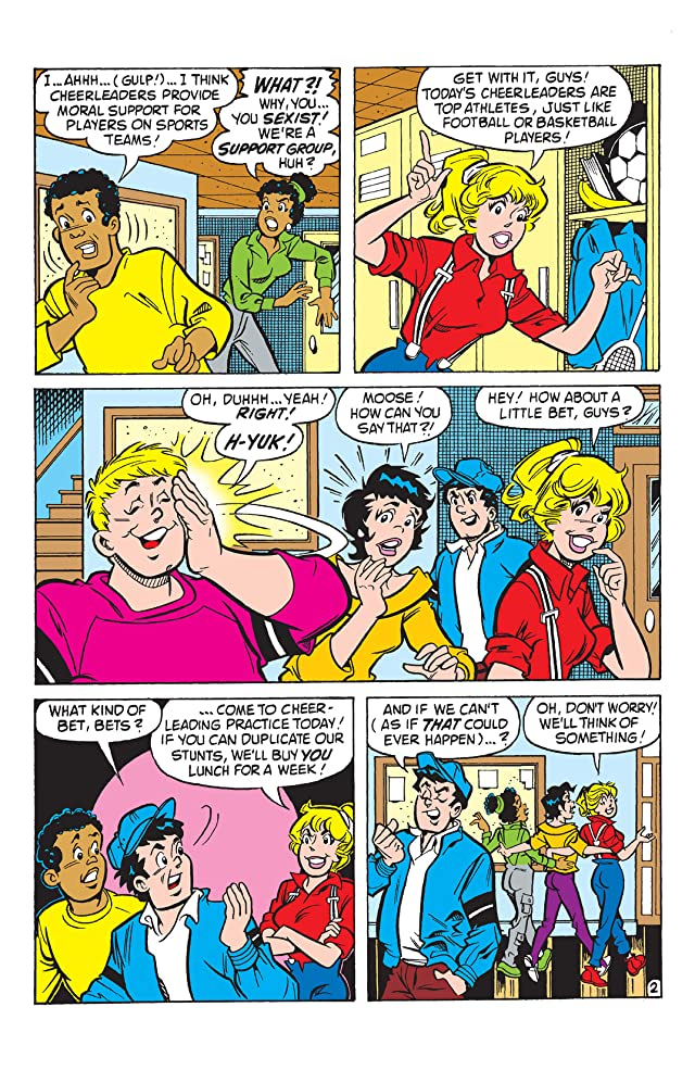 click for super-sized previews of PEP Digital #97: World of Archie: Pals VS Gals