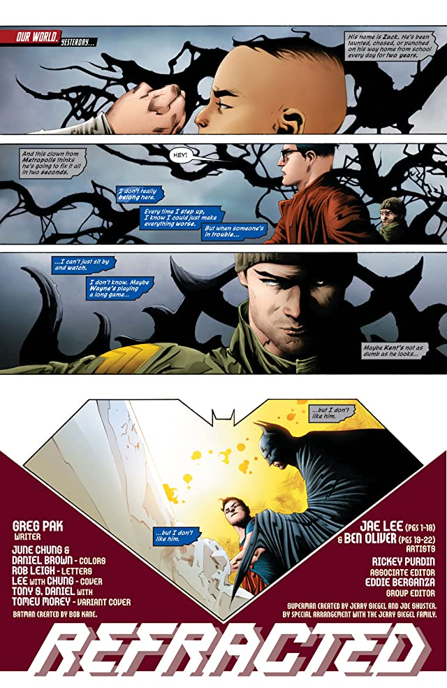 click for super-sized previews of Batman/Superman (2013-) #4