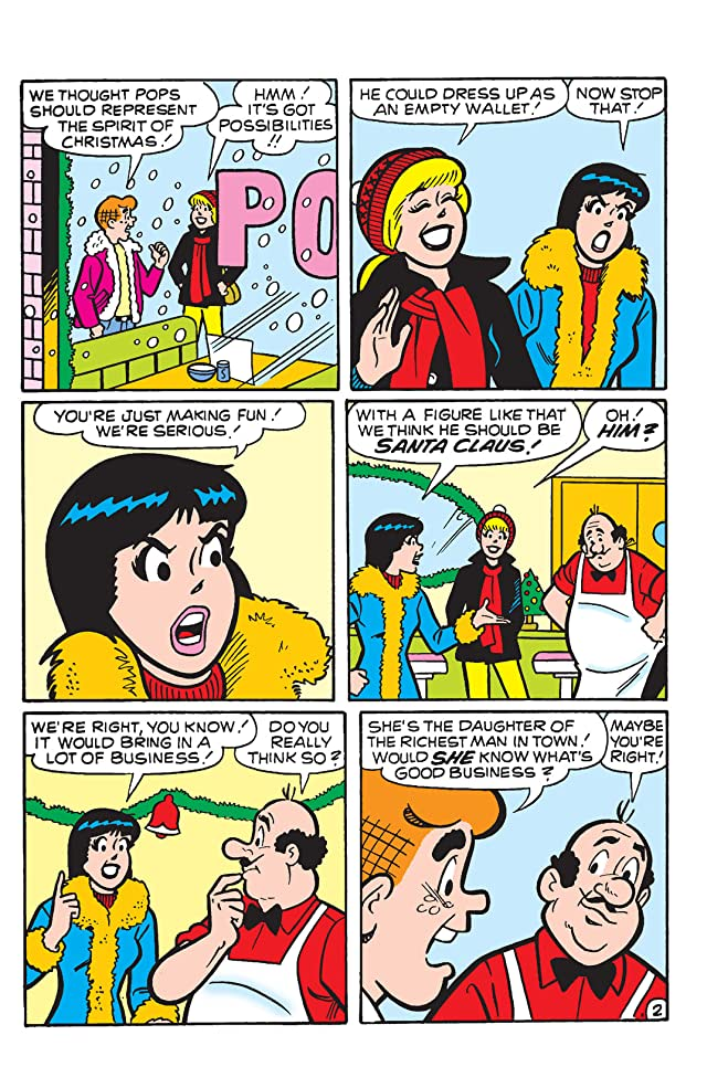 click for super-sized previews of PEP Digital #65: Archie's Christmas Spirit