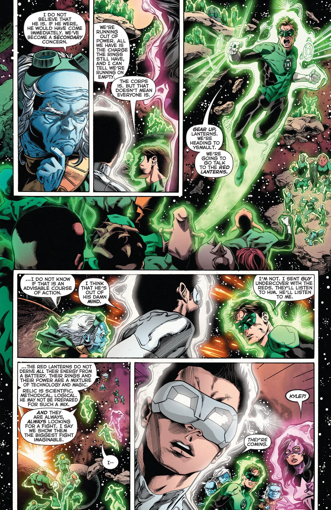 Green Lantern: New Guardians (2011-2015) #24