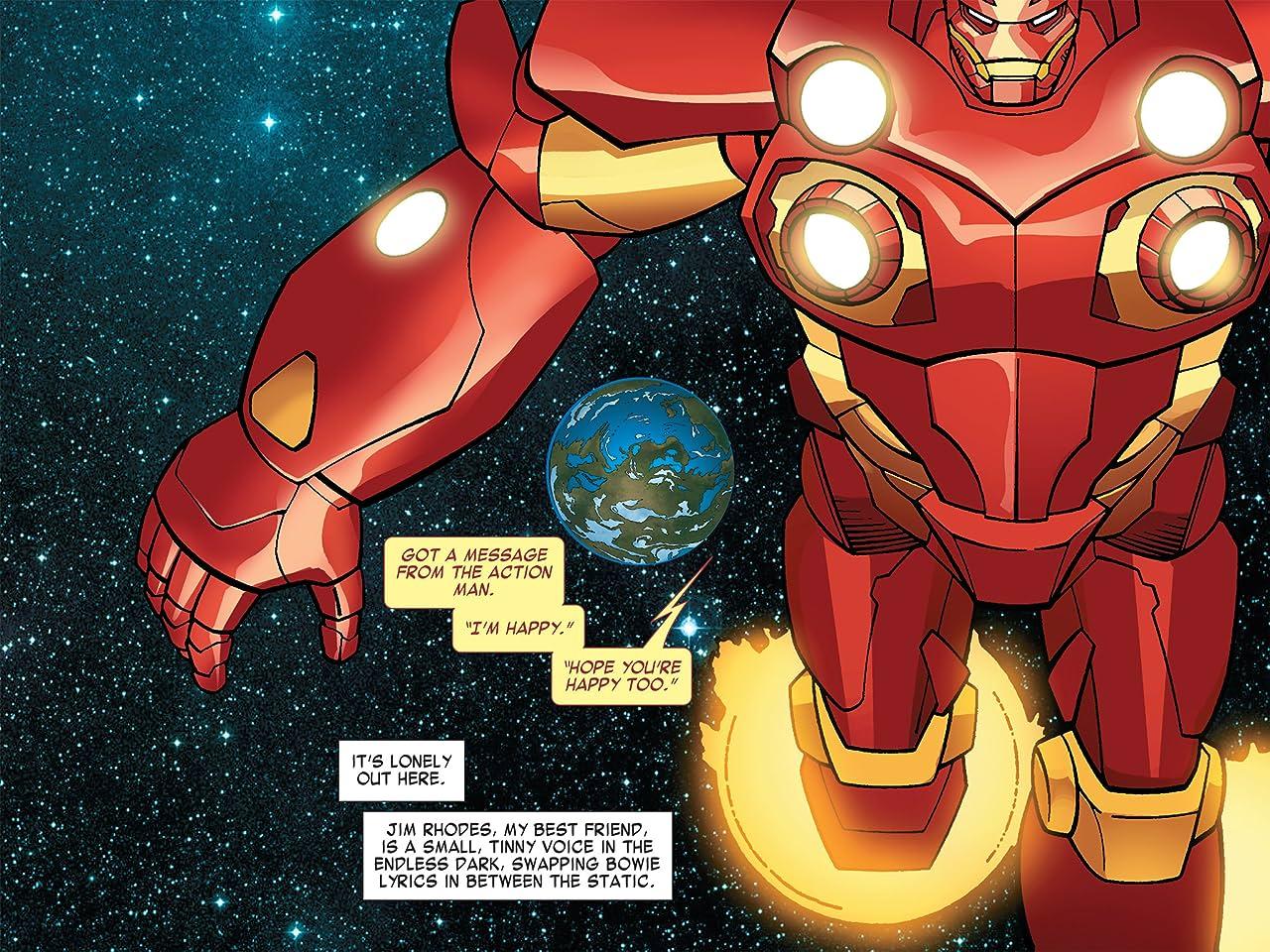 Iron Man: Fatal Frontier Infinite Comic #2