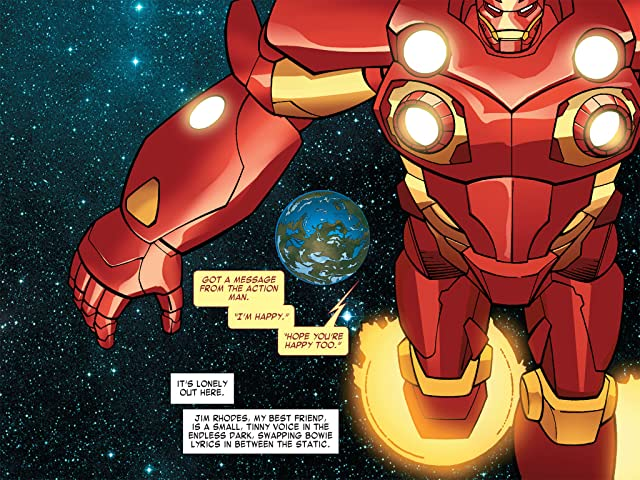 click for super-sized previews of Iron Man: Fatal Frontier Infinite Comic #2