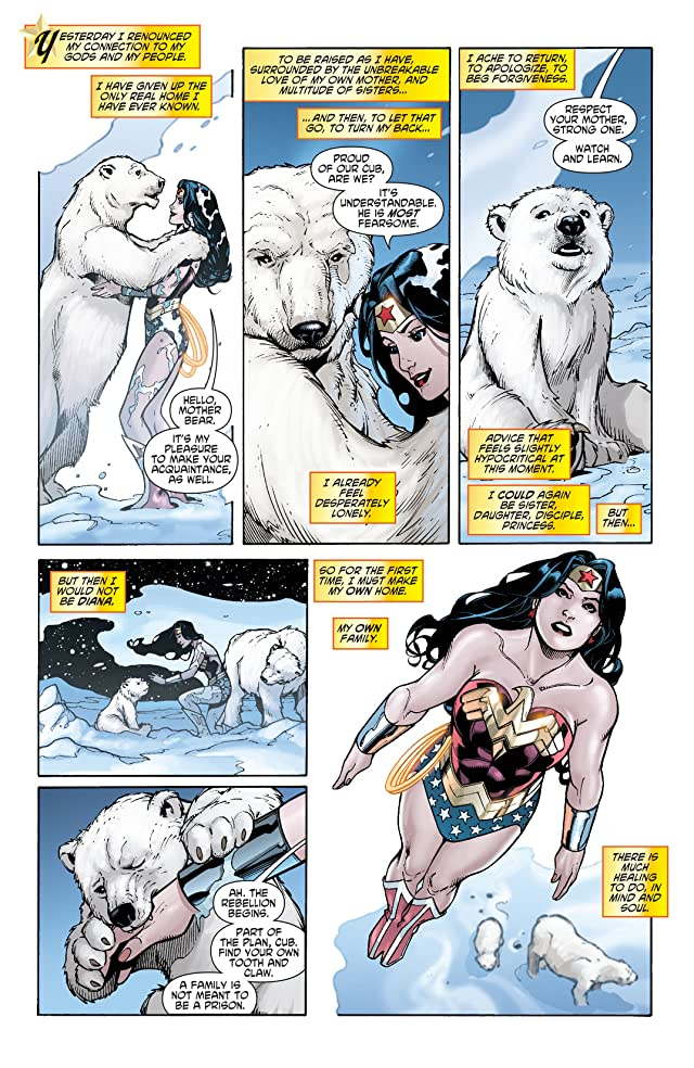 click for super-sized previews of Wonder Woman (2006-2011) #34