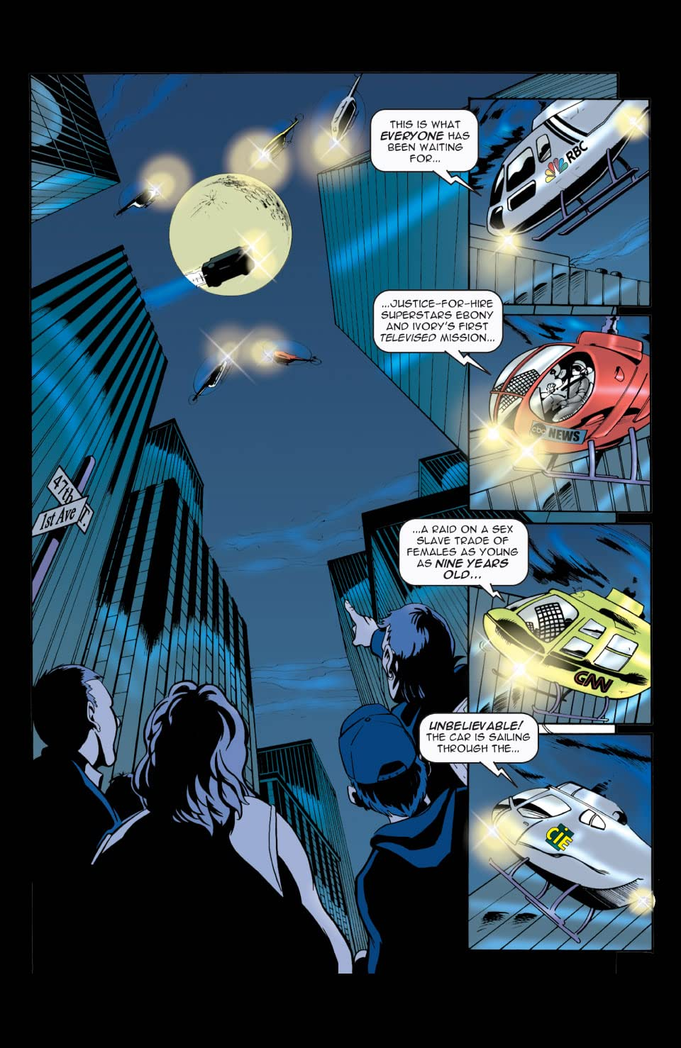 JFH: Justice For Hire: Season 1 Collected