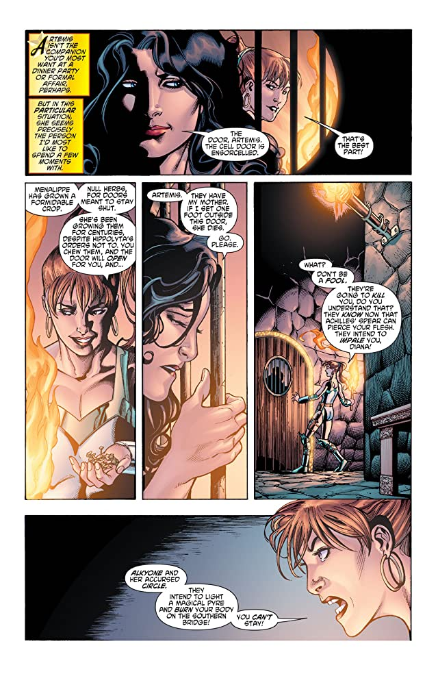 click for super-sized previews of Wonder Woman (2006-2011) #38