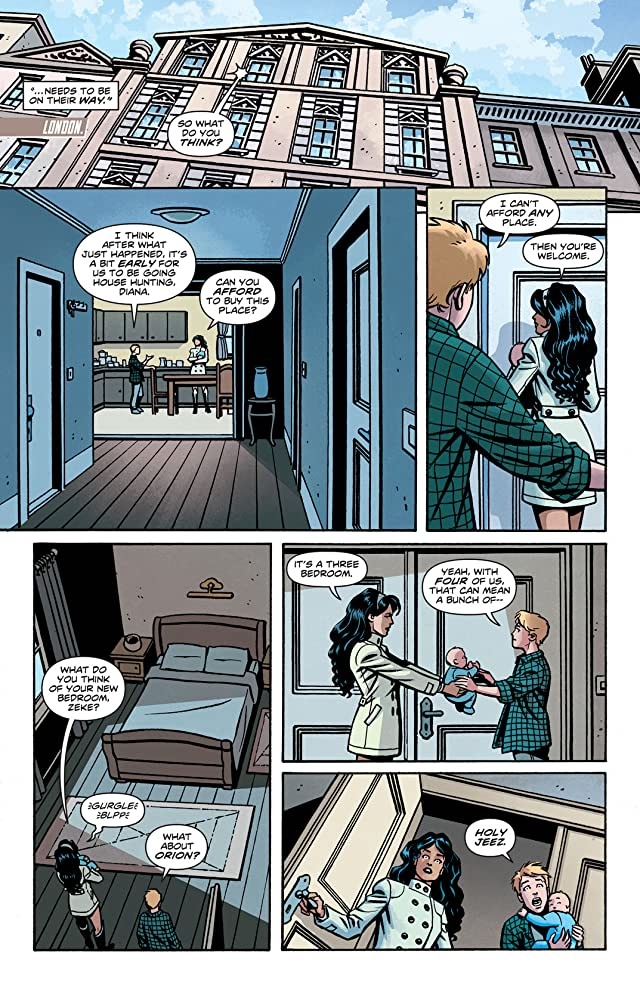 click for super-sized previews of Wonder Woman (2011-) #24