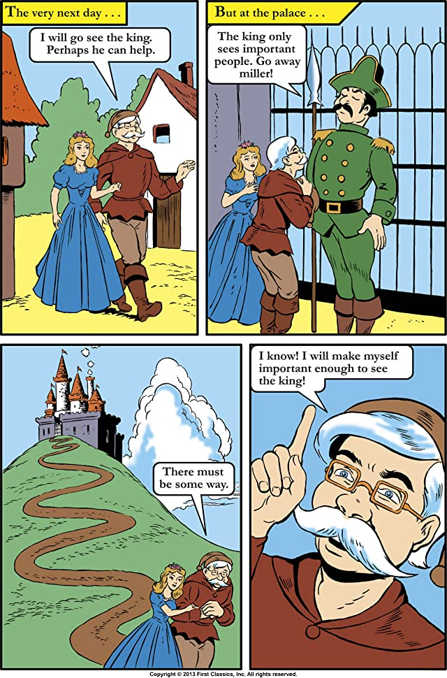 click for super-sized previews of Classics Illustrated Junior #512: Rumplestiltskin