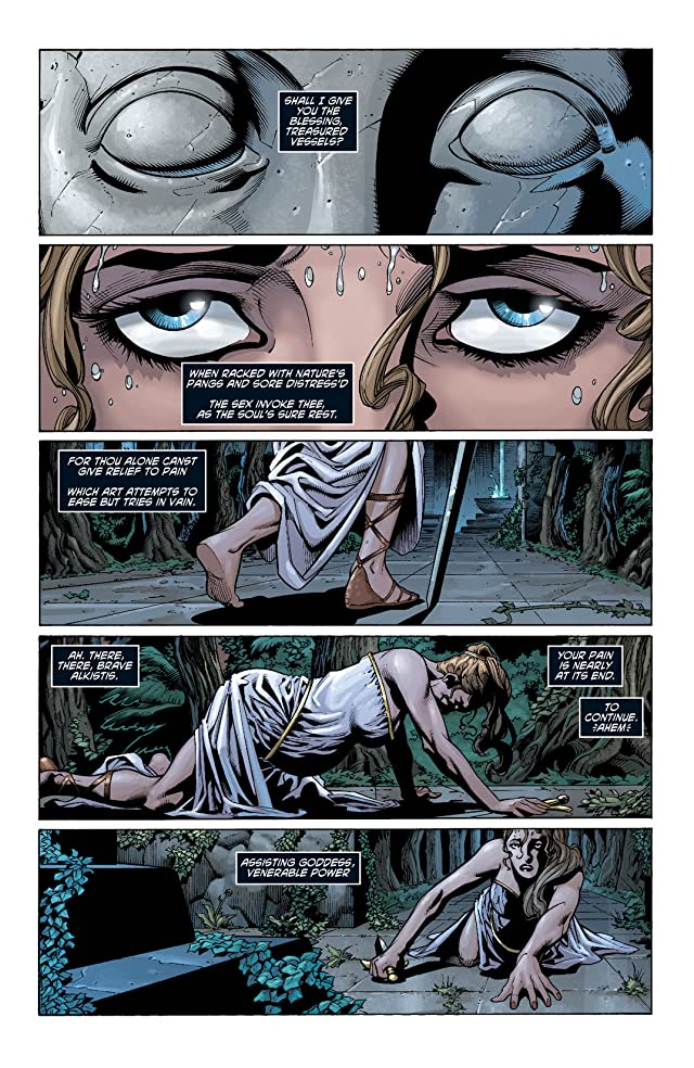 click for super-sized previews of Wonder Woman (2006-2011) #39