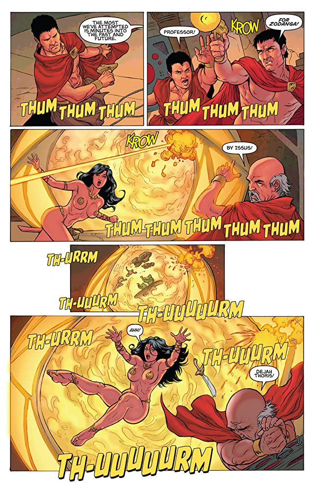 click for super-sized previews of Warlord of Mars: Dejah Thoris #31