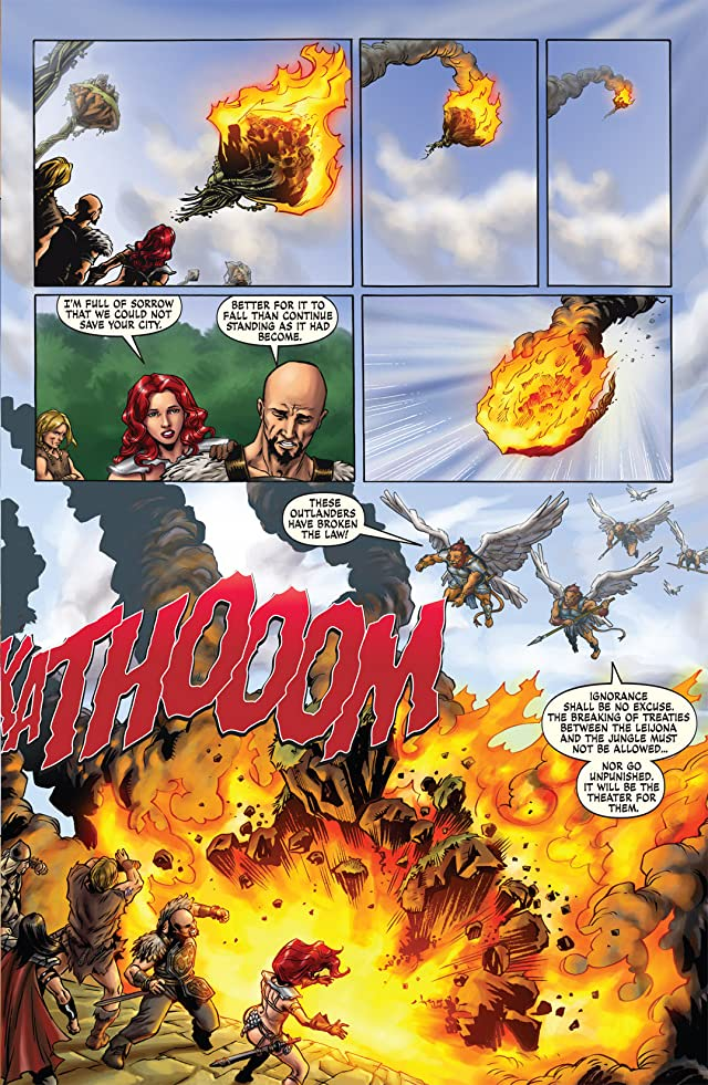 click for super-sized previews of Red Sonja: She-Devil With A Sword - Omnibus Volume 2