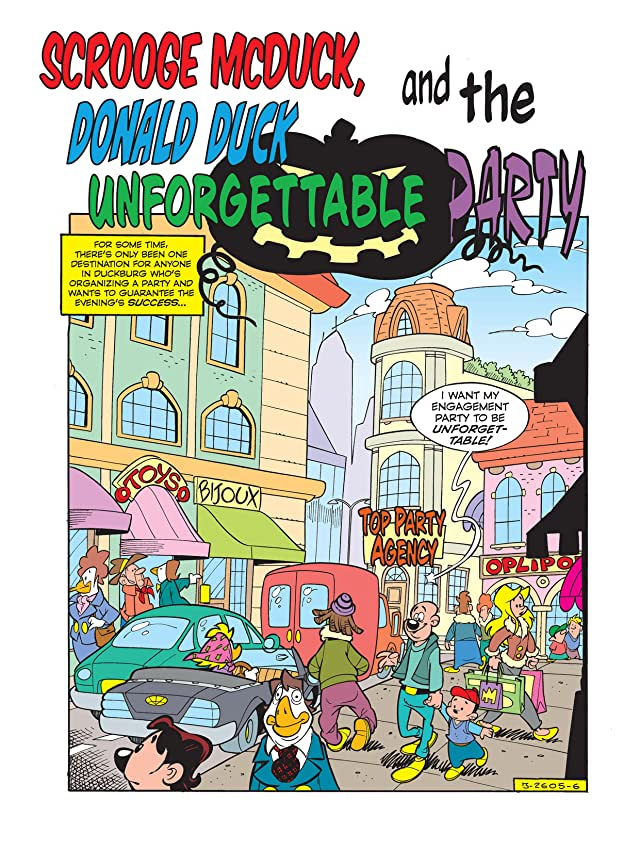 Scrooge McDuck and the Unforgettable Party