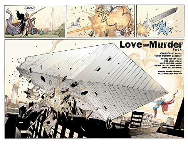 click for super-sized previews of Wonder Woman (2006-2011) #9