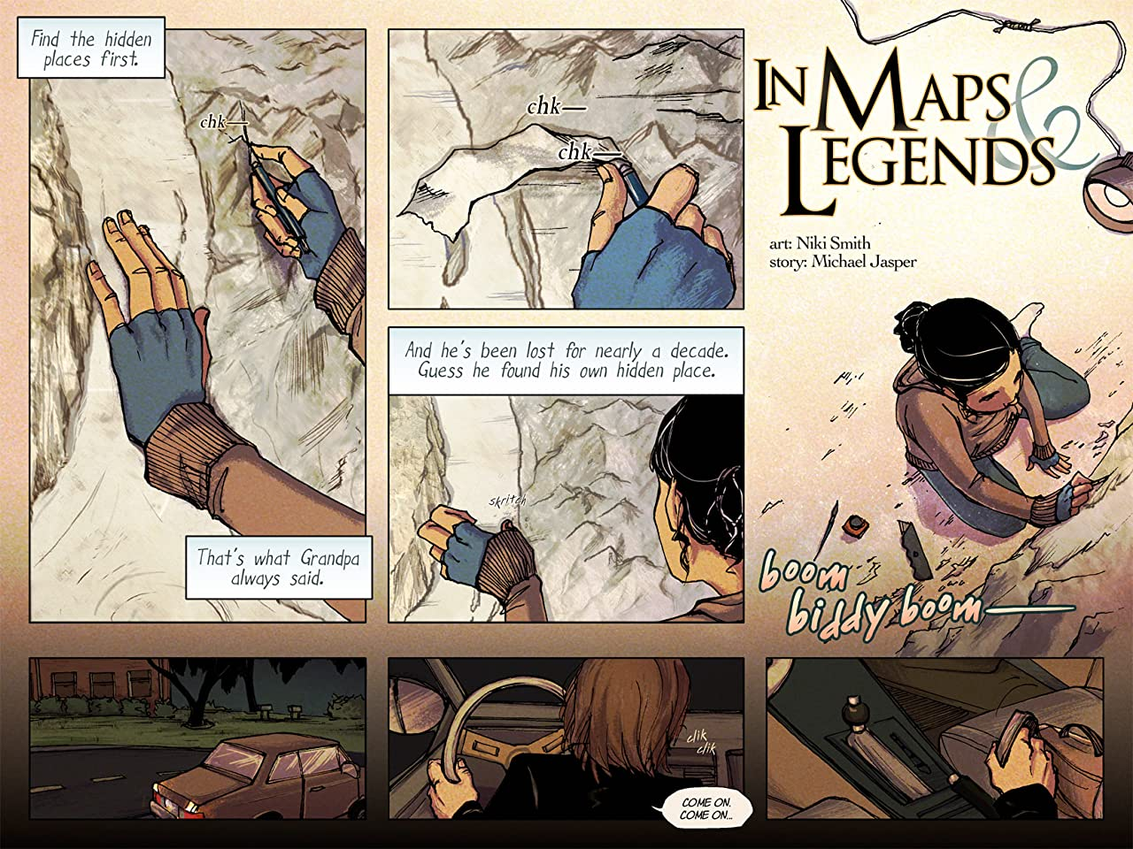 In Maps & Legends: Collected Edition