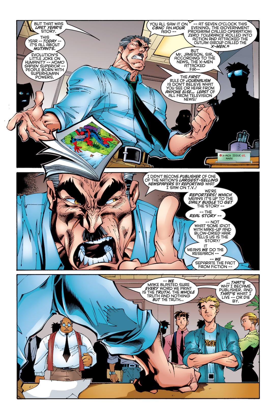 Uncanny X-Men (1963-2011) #346