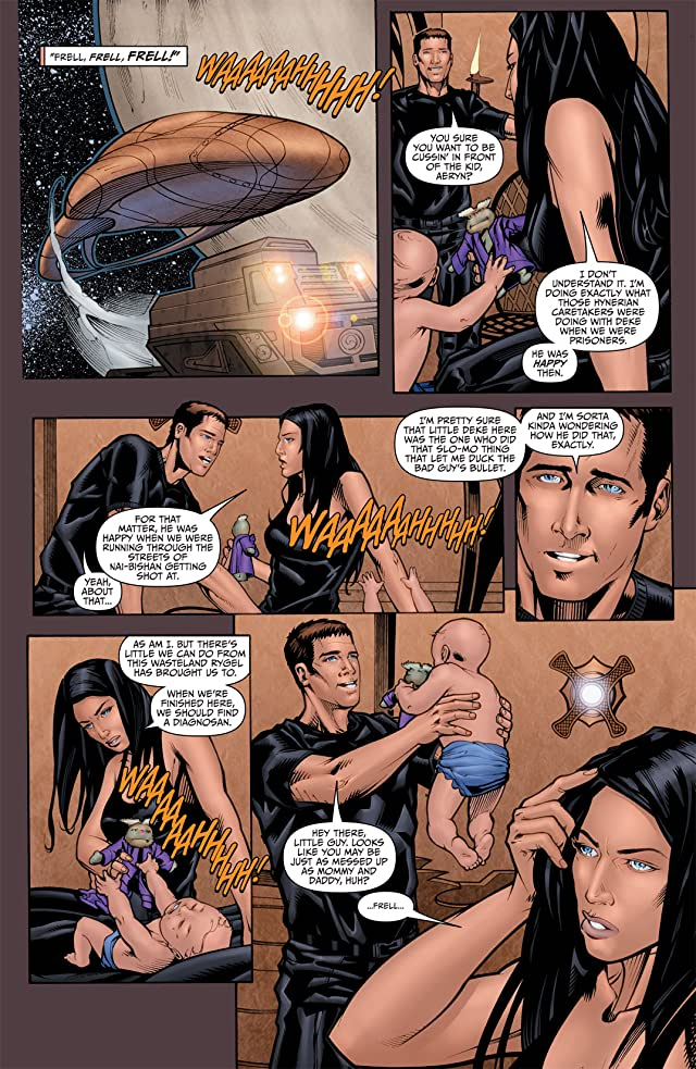 click for super-sized previews of Farscape Vol. 1 #4 (of 4)