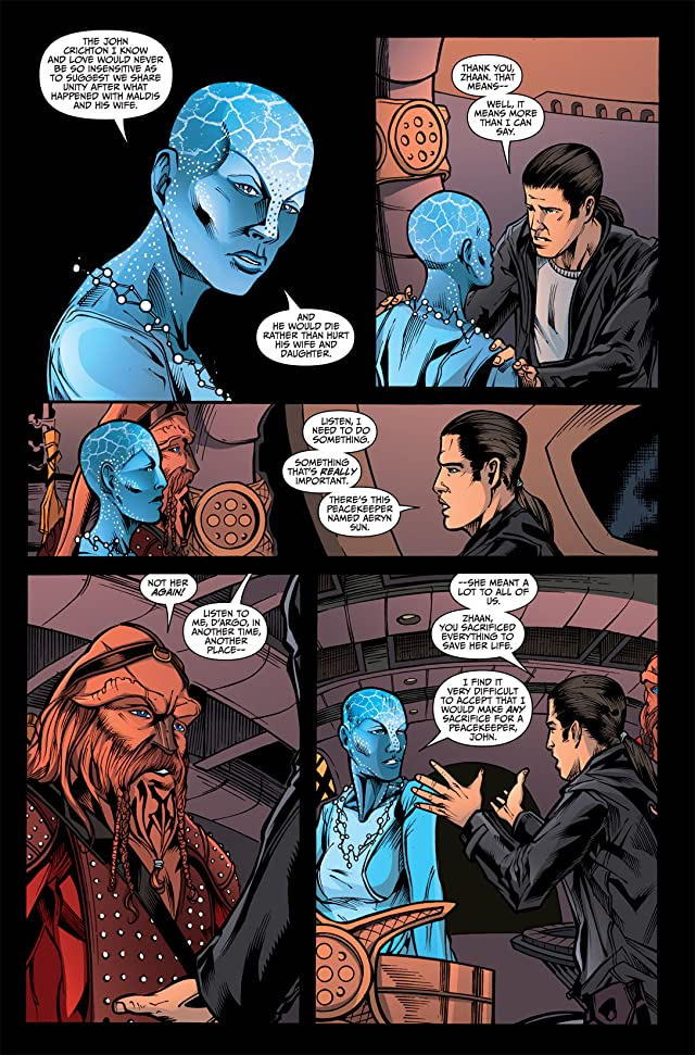 click for super-sized previews of Farscape Vol. 3: Gone and Back #2
