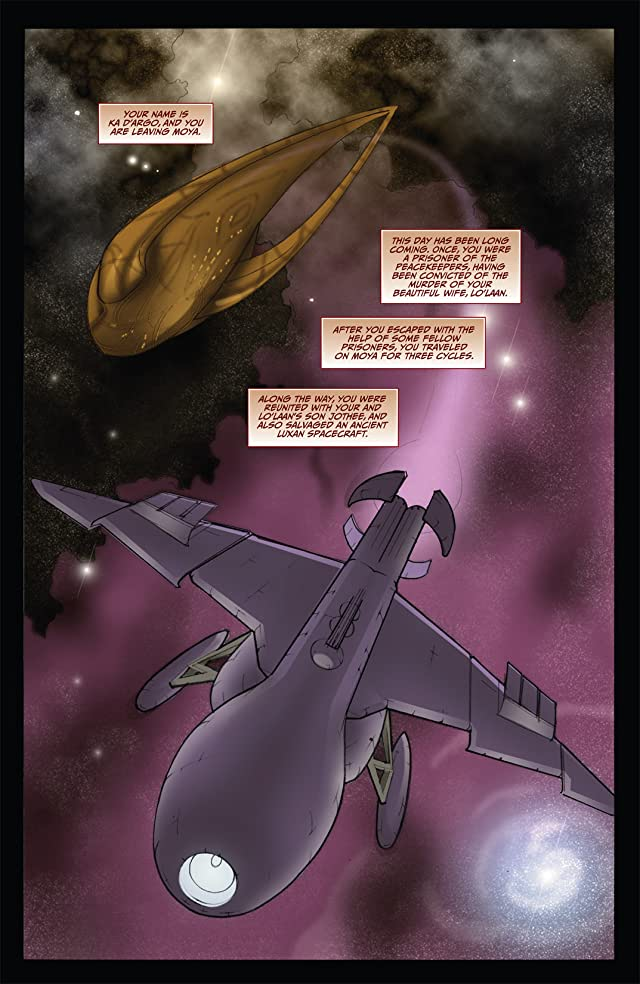 click for super-sized previews of Farscape: D'Argo's Trial Vol. 2 #1