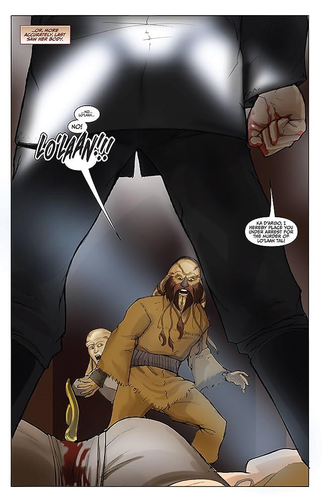 click for super-sized previews of Farscape: D'Argo's Trial Vol. 2 #3