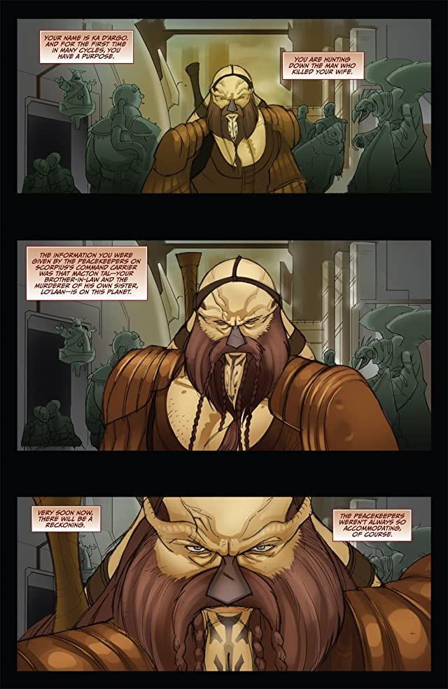 click for super-sized previews of Farscape: D'Argo's Trial Vol. 2 #4 (of 4)
