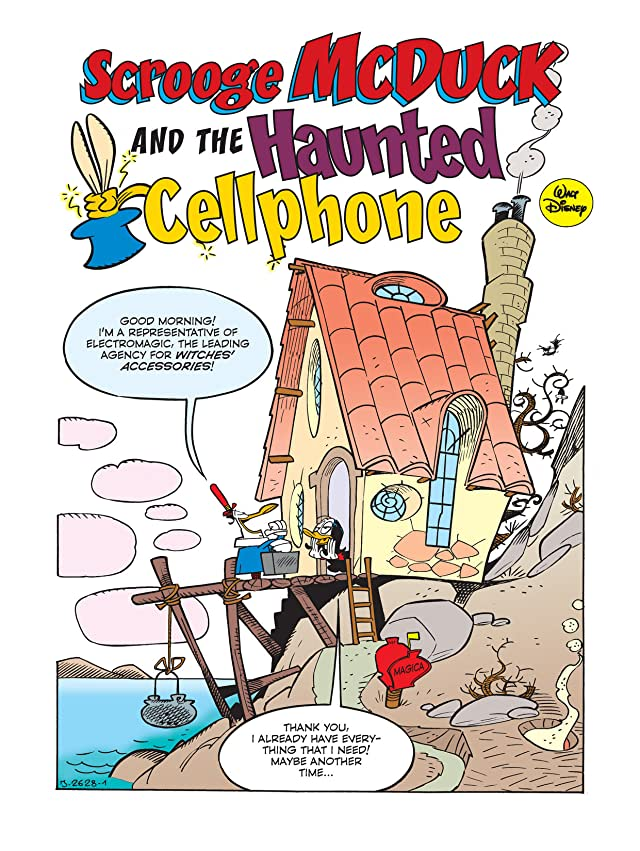 click for super-sized previews of Scrooge McDuck and the Haunted Cellphone