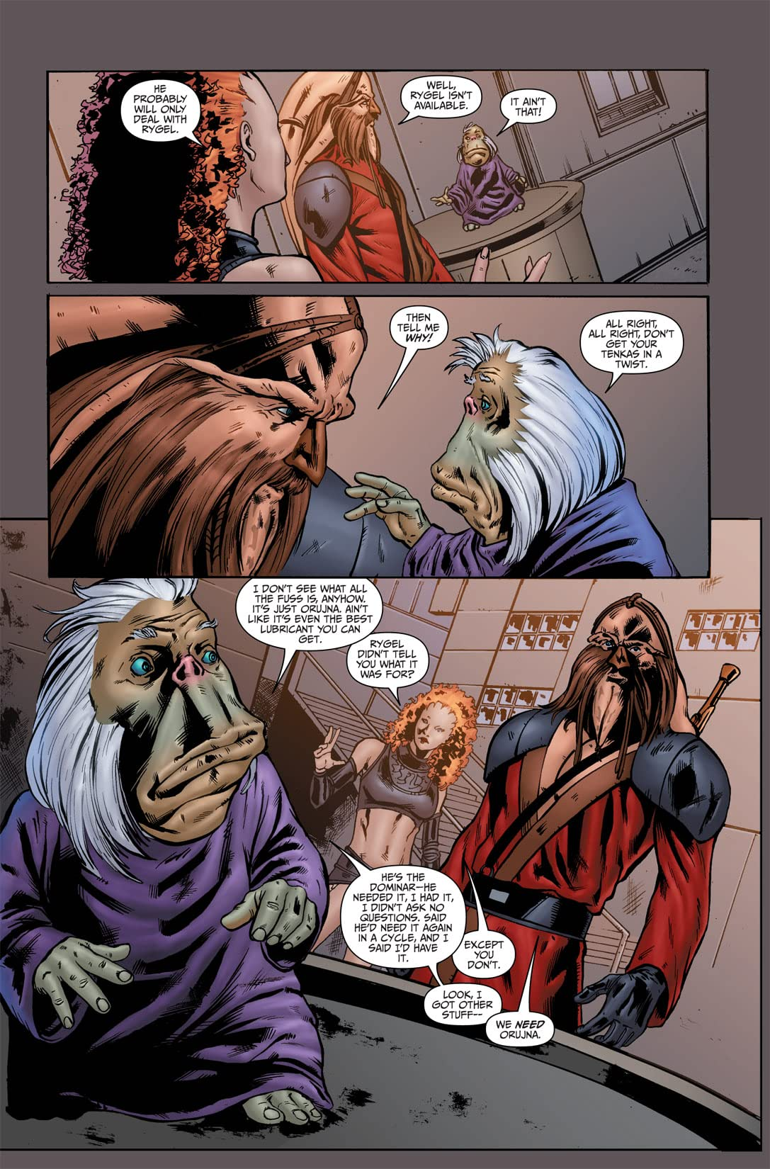 Farscape: D'Argo's Lament Vol. 1 #1 (of 4)