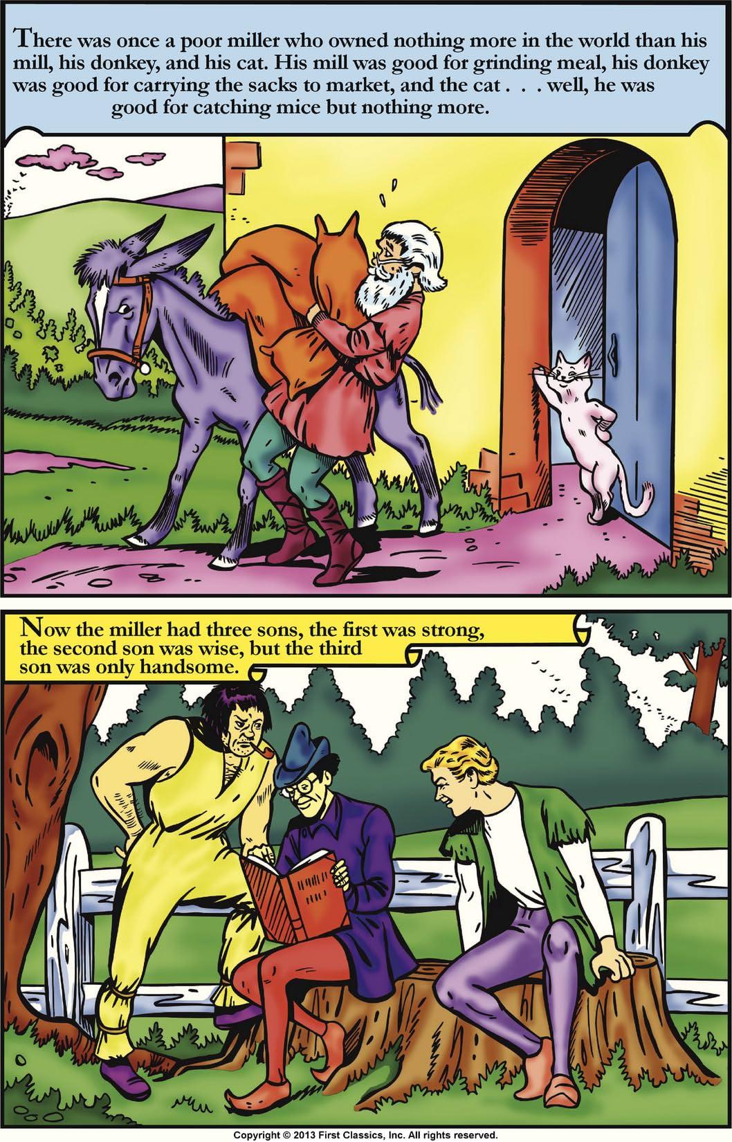 Classics Illustrated Junior #511: Puss-In-Boots