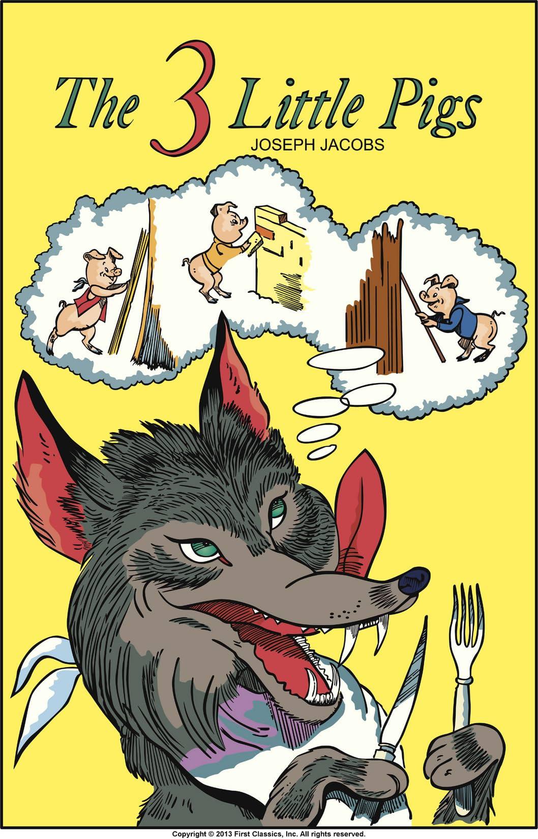 Classics Illustrated Junior #506: The Three Little Pigs