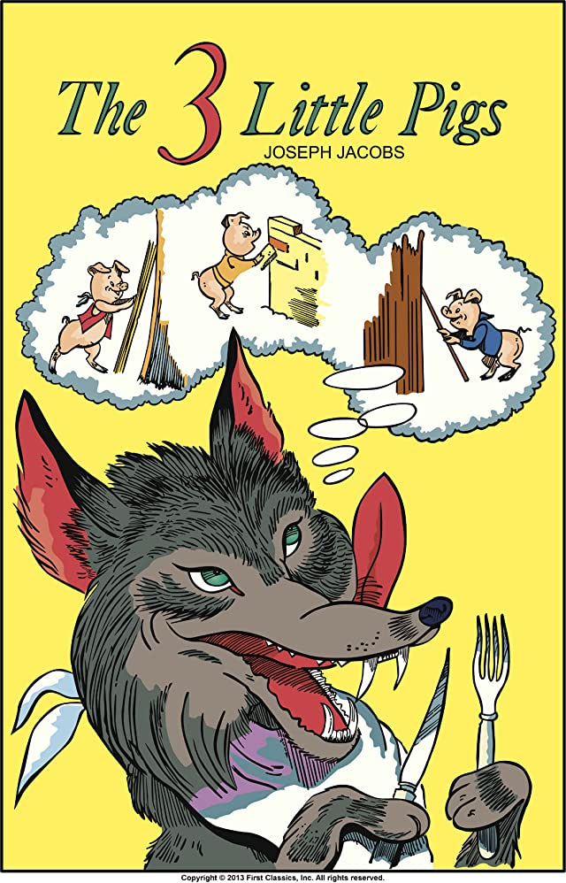 click for super-sized previews of Classics Illustrated Junior #506: The Three Little Pigs
