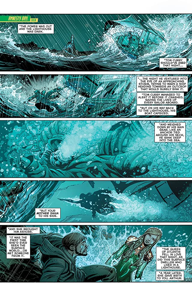 click for super-sized previews of Aquaman (2011-) #24