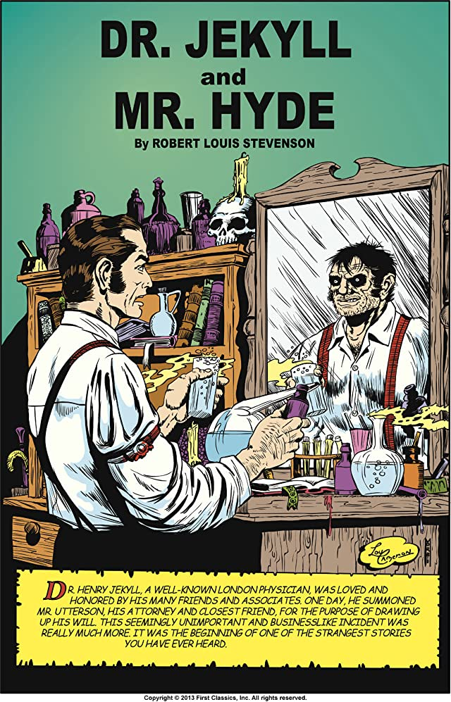 Classics Illustrated #13: Dr. Jekyll & Mr. Hyde