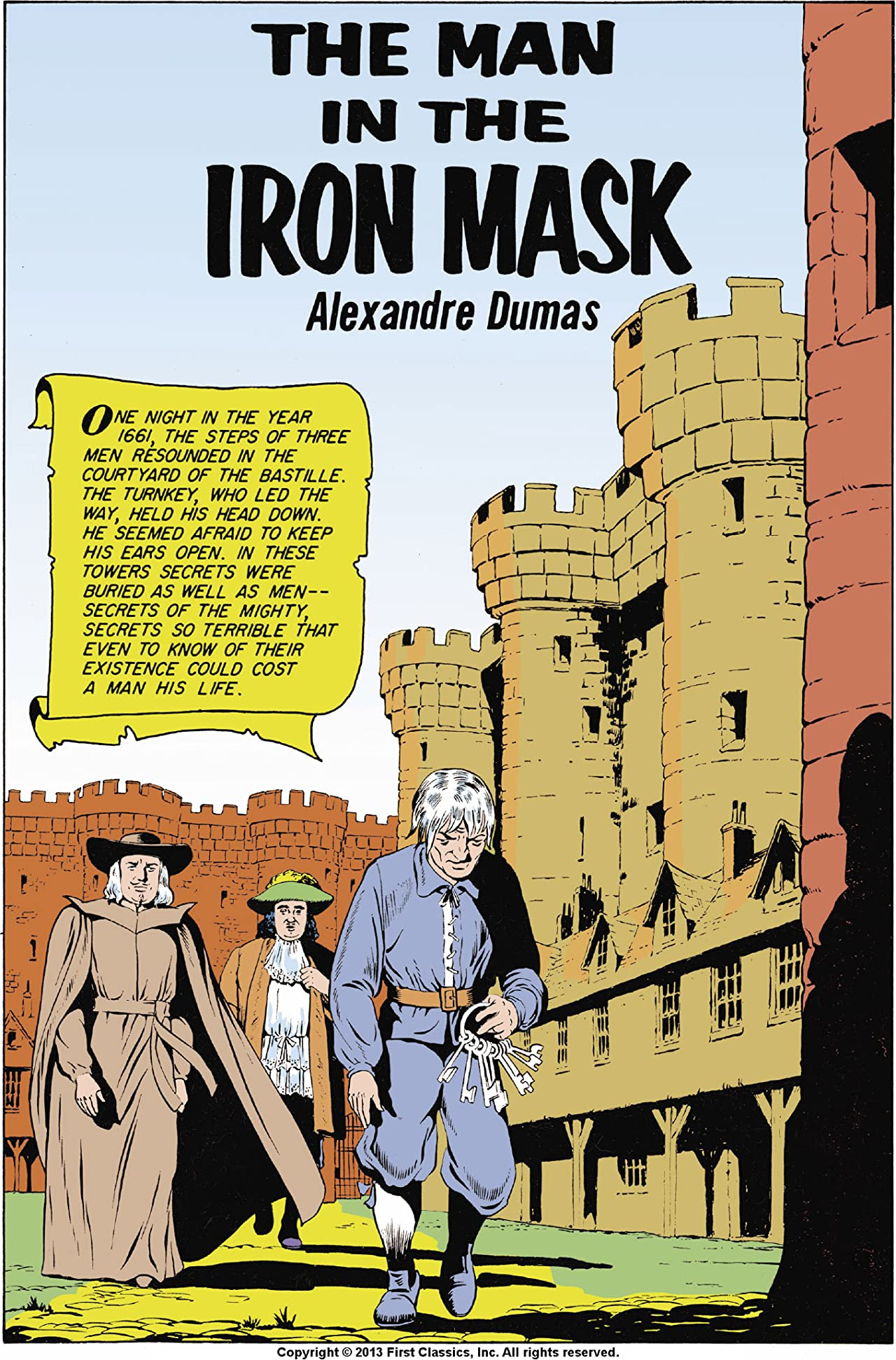 Classics Illustrated #54: The Man in the Iron Mask