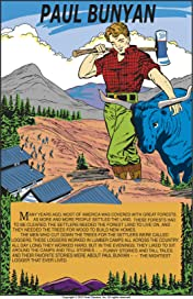 Classics Illustrated Junior #519: Paul Bunyan