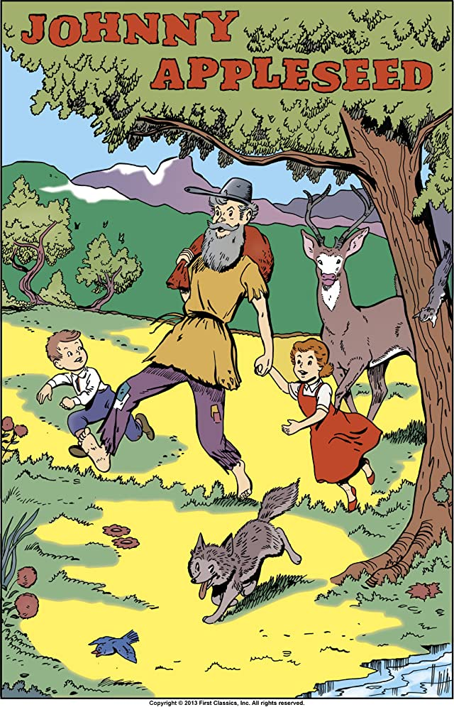 Classics Illustrated Junior #515: Johnny Appleseed