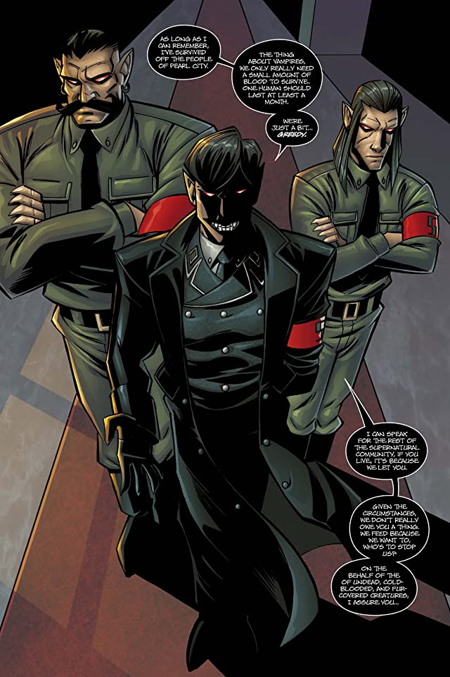 click for super-sized previews of Crimson Society #0