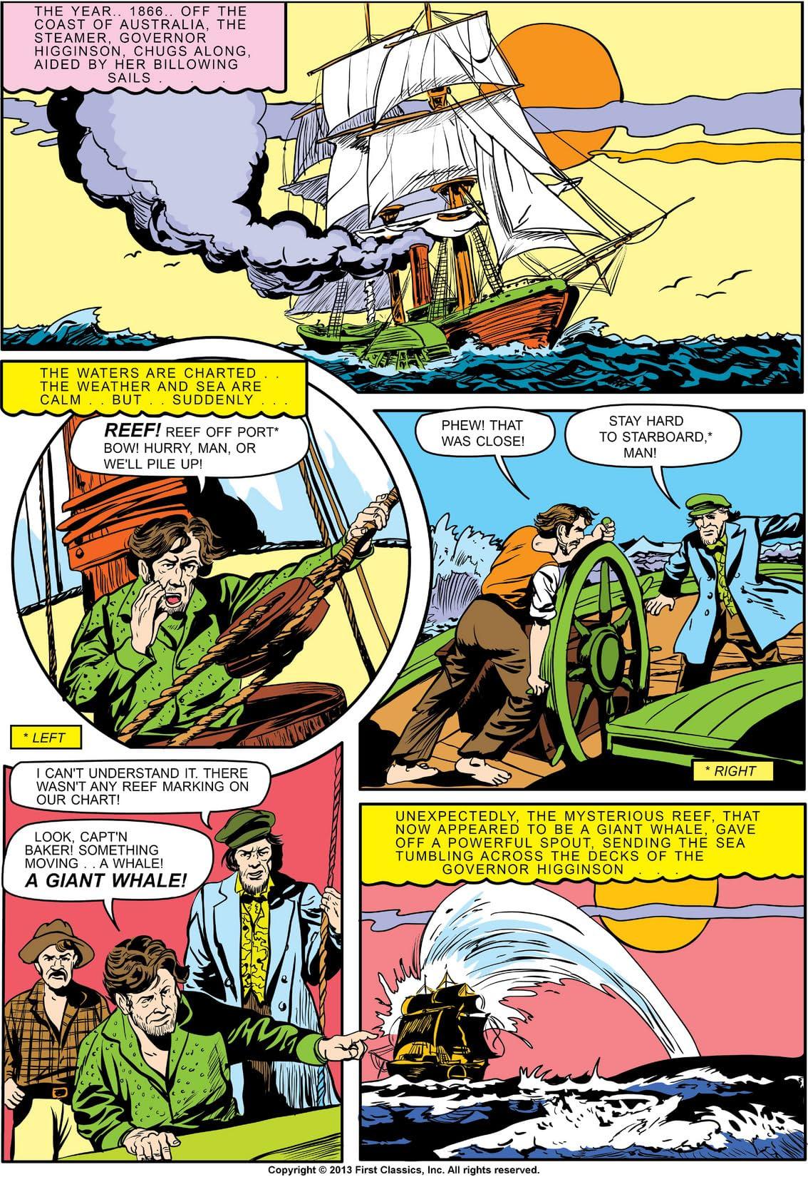 Classics Illustrated #47: 20,000 Leagues Under the Sea