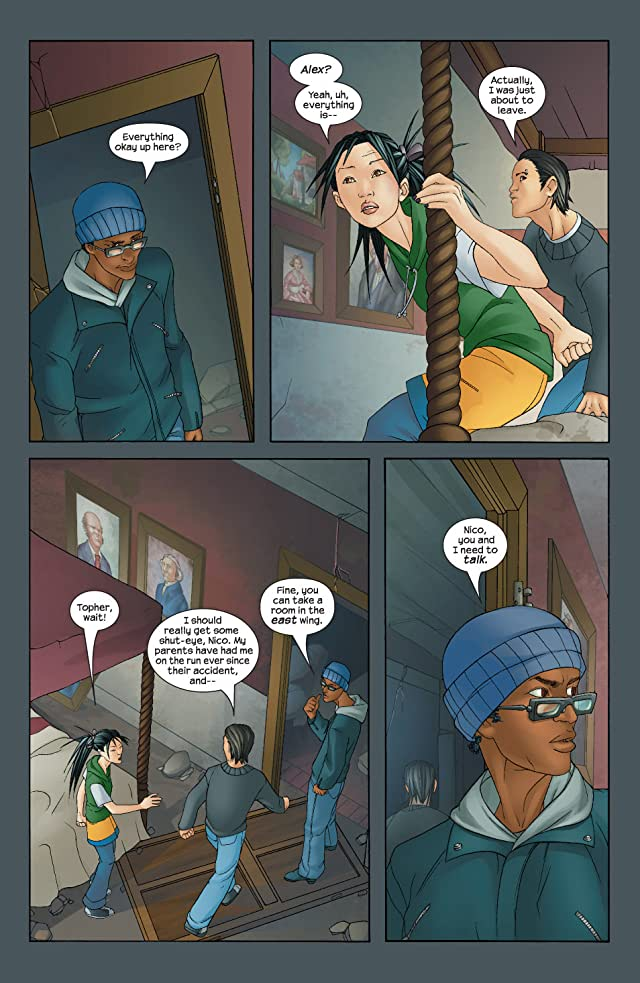 click for super-sized previews of Runaways (2003-2004) #9