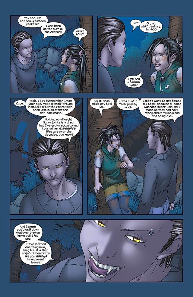 click for super-sized previews of Runaways (2003-2004) #10