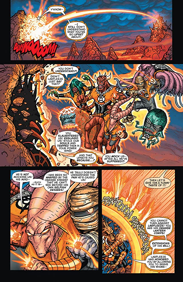 click for super-sized previews of Larfleeze (2013-2015) #4