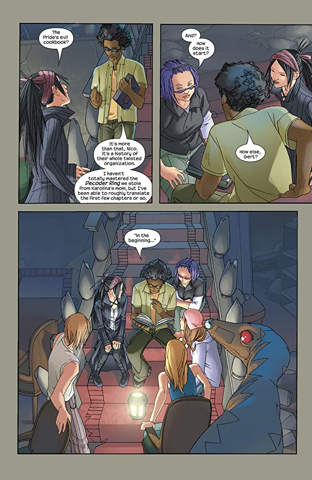 click for super-sized previews of Runaways (2003-2004) #13