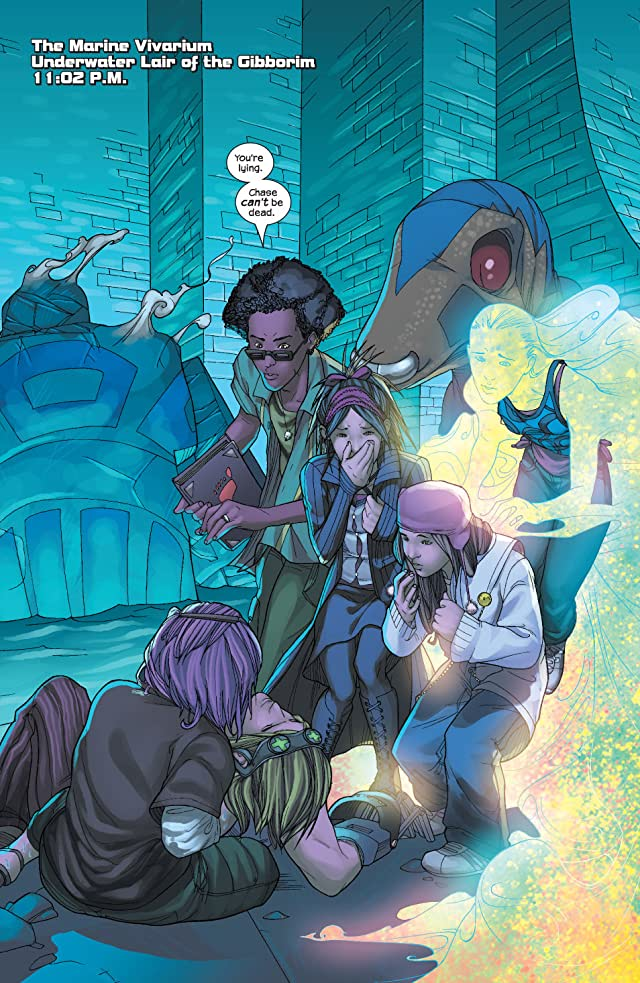 click for super-sized previews of Runaways (2003-2004) #16