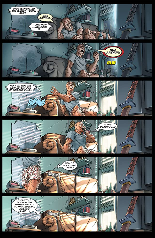 click for super-sized previews of Cable & Deadpool Vol. 1: If Looks Could Kill