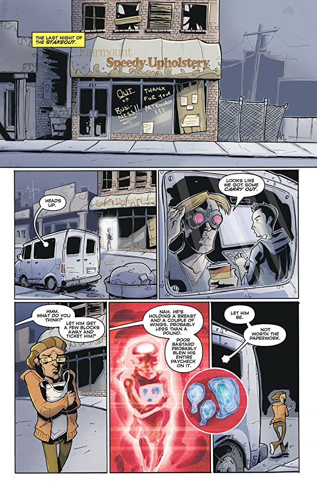 click for super-sized previews of Chew Vol. 1: Taster's Choice
