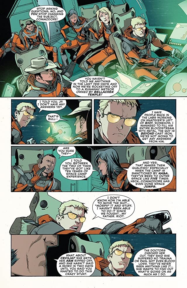 click for super-sized previews of The Green Team: Teen Trillionaires #5