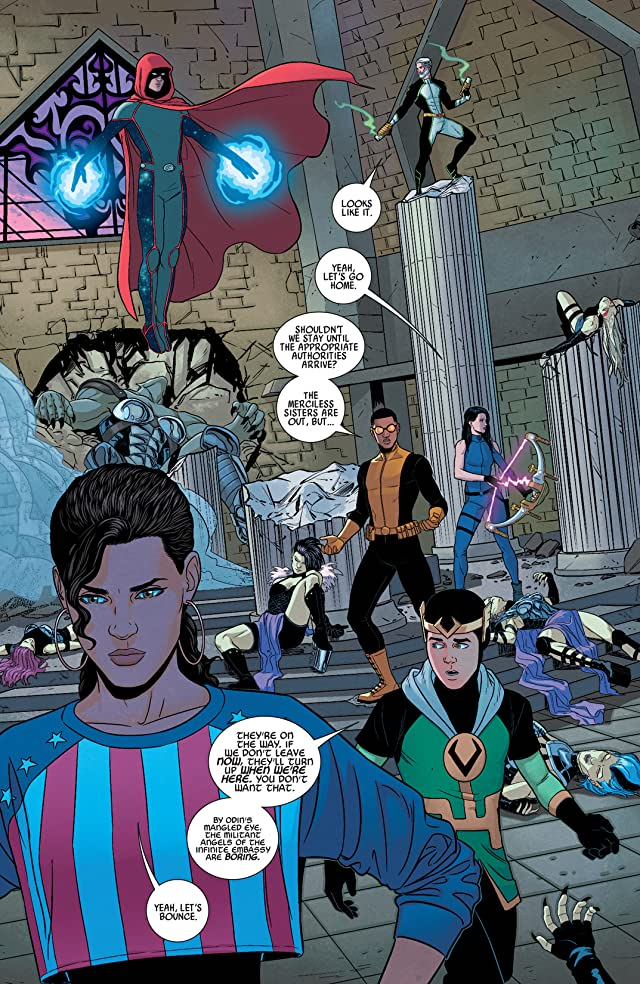 click for super-sized previews of Young Avengers (2013) #11