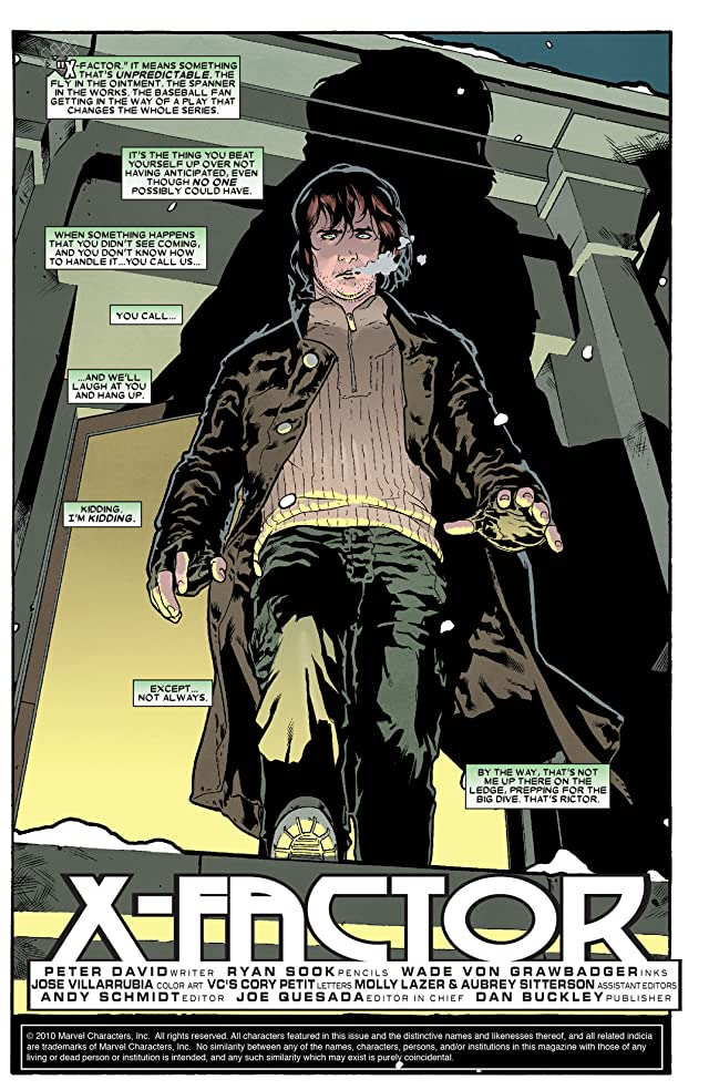 click for super-sized previews of X-Factor Vol. 1: The Longest Night