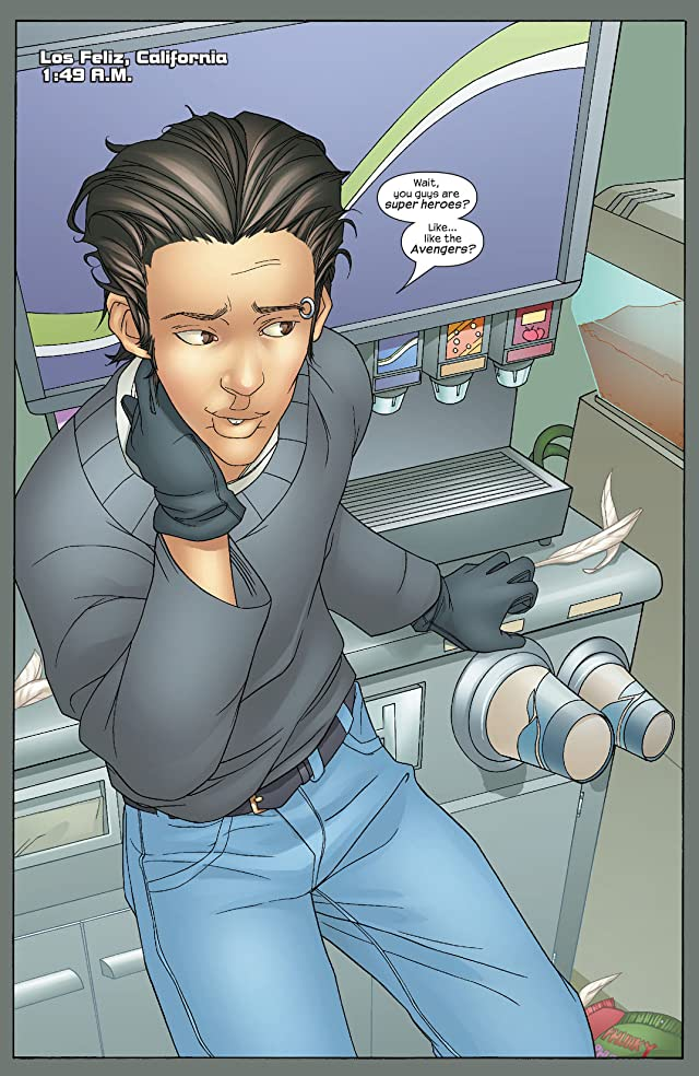 click for super-sized previews of Runaways (2003-2004) #8