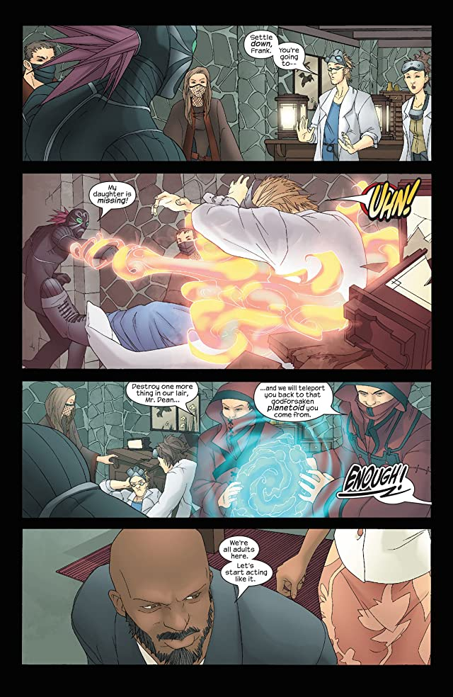 click for super-sized previews of Runaways (2003-2004) #7