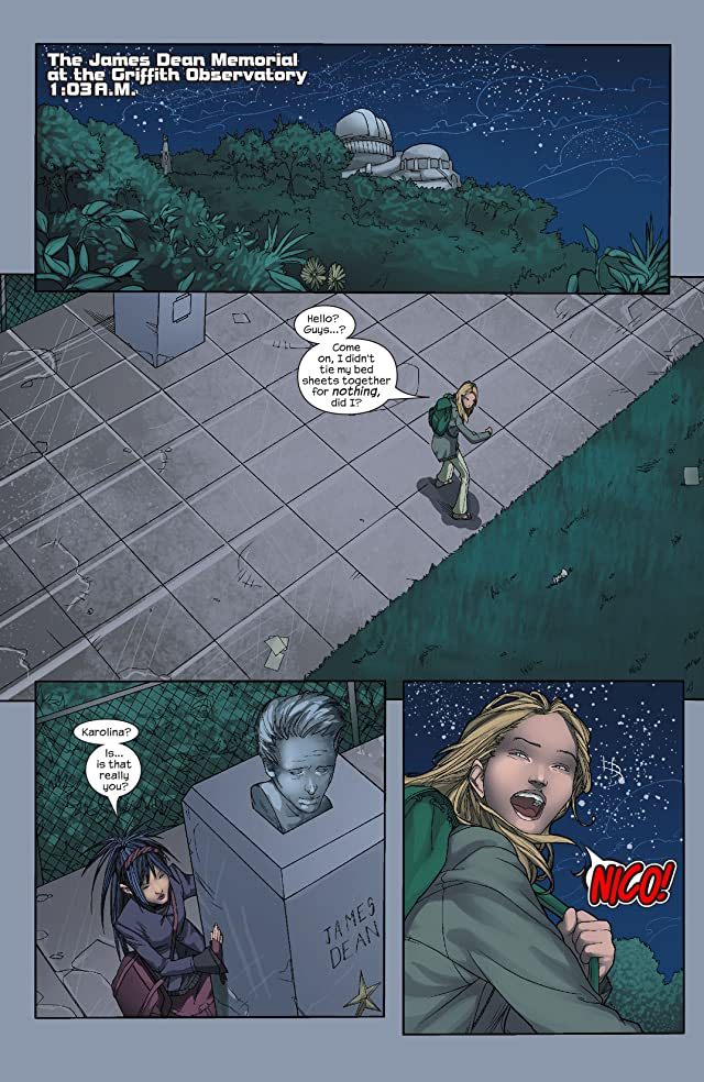 click for super-sized previews of Runaways (2003-2004) #18