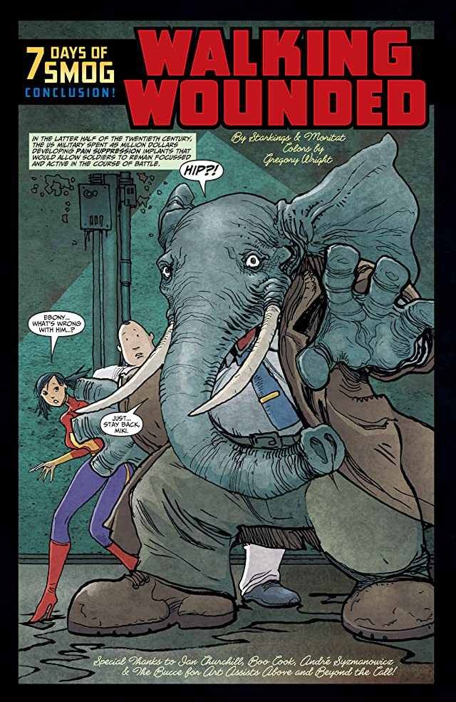Elephantmen Vol. 4: Questionable Things
